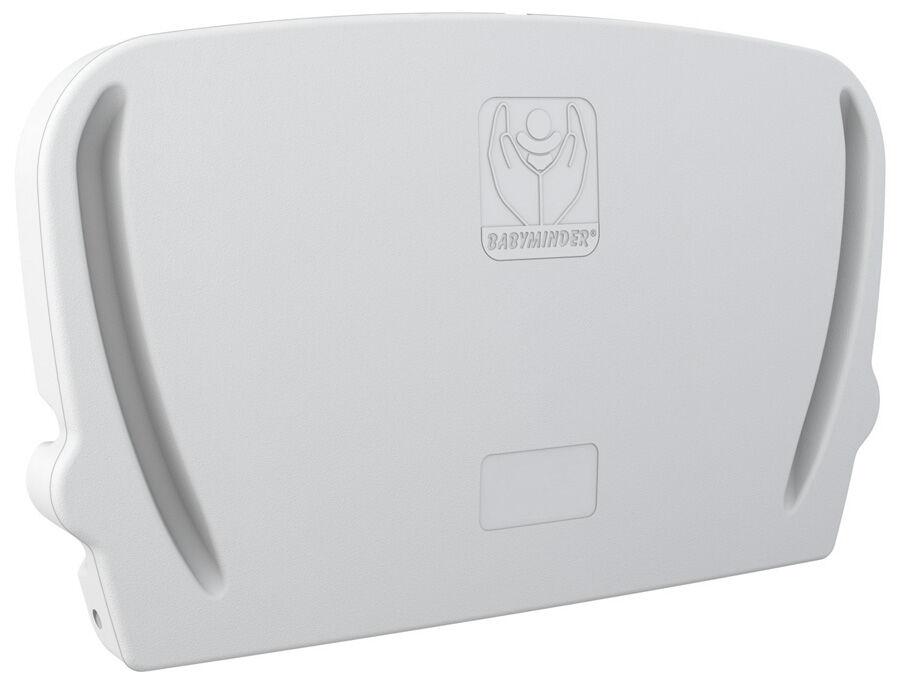 Lehajtható pelenkázó, fali vízszintes BABYMINDER, fehér