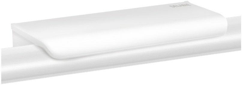 DELABIE Be-Line és NylonClean kapaszkodókra rögzíthető dizájner piperepolc 2db akasztóval, 165x70mm, fehér