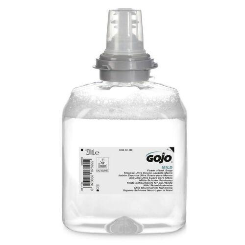 GOJO Mild lágy illatmentes és színezékmentes habszappan utántöltő patron, TFX rendszerhez, 1200 ml