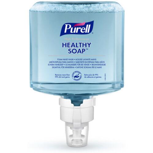 PURELL ES4 HEALTHY SOAP selymes, friss illatú habszappan utántöltő patron, extra higiénikus tisztítóhatással, ES4 PURELL Soap manuális rendszerhez, 1200 ml