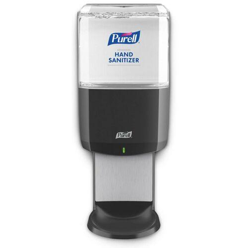 PURELL ES6 automata kézfertőtlenítő adagoló, ES6 kézfertőtlenítő rendszer, 1200 ml, érintésmentes szenzoros működtetéssel, elemes, fekete - az utántöltő patron nem a termék része