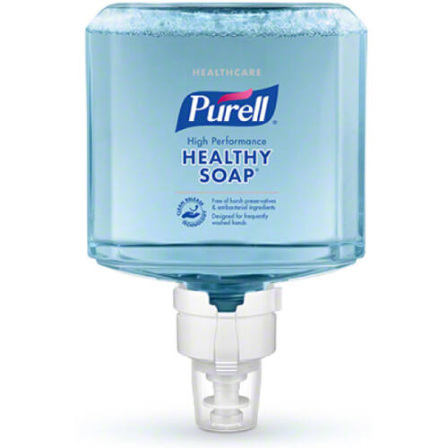 PURELL ES8 HEALTHY SOAP selymes, illatmentes habszappan utántöltő patron ENERGY-ON-THE-REFILL integrált elemmel, extra higiénikus tisztítóhatással, ES8 PURELL Soap automata rendszerhez, 1200 ml