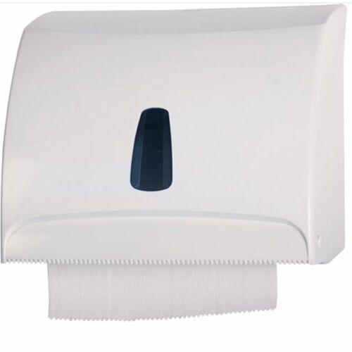 Kombinált C/Z és tekercses papíradagoló, műanyag, fehér