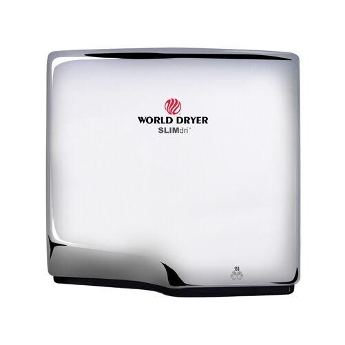 L-972 WORLD DRYER SLIMdri automata kézszárító, r.m. acél, fényes, 950 W, 10-12 mp, 83 dB