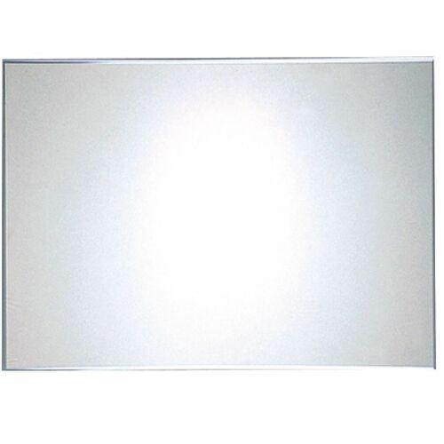 Fali, rozsdamentes acél tükör, vandálbiztos, 900 * 600 mm