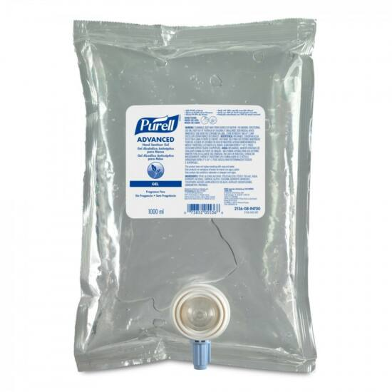 PURELL Advanced kézfertőtlenítő gél utántöltő patron, NXT rendszer, 1000 ml