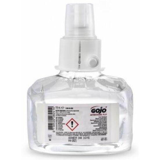 GOJO Antimikrobiális Plus fertőtlenítő kézmosó habszappan patron, LTX, 700 ml